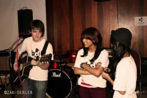 Photo by Zak Derler: BID's first ever gig held at Bradford Polish Bar.