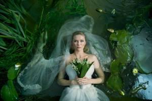 Kirsten Dunst is Justine in Lars von Trier's masterpiece 'Melancholia'